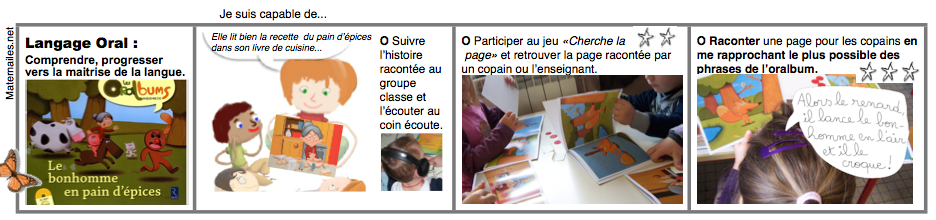 Oralbum Le Bonhomme De Pain D Epices Brevets En Maternailes