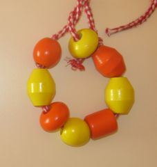 collier perle maternelle