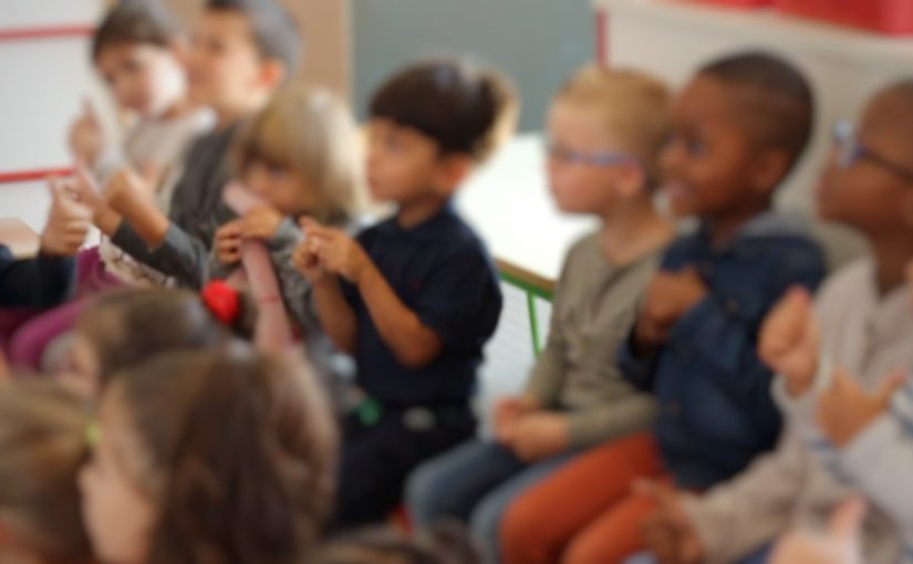 La passation de consigne en maternelle