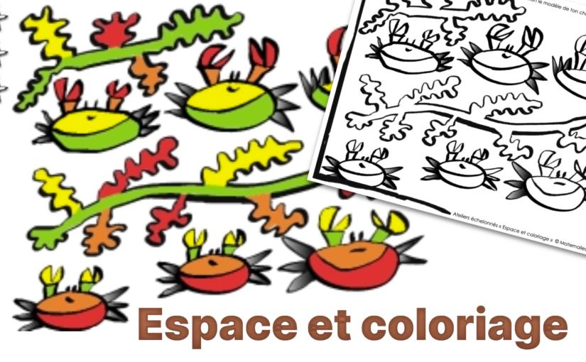 Espace et coloriage
